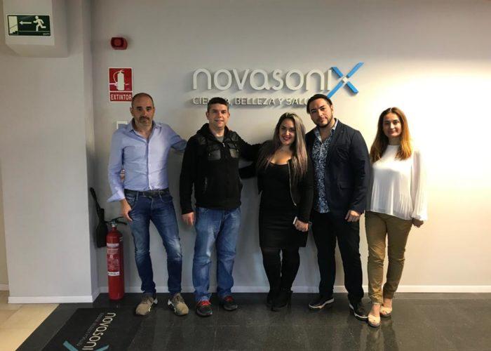 Novasonix y AllA Medical Group en Chile